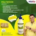 Polywood White Adhesive to Paste Charcoal Sheets on Walls