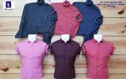 kottpn guys 6 colors Mens Cotton Plain Formal Shirt, Machine wash, Size: s/m/l/xl/2xl