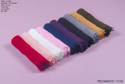 Beingmuslims 70x180cm Organic Cotton Hijab