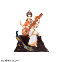 Fiber Maa Saraswati Statue