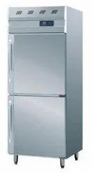 4 Star Silver Two Door Refrigerator, Capacity: 350 Litre