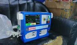 Defibrillator With ECG ND Printer