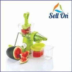 Green Manual Plastic Hand Juicer
