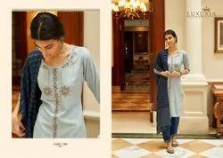 Ladies Designer Full Stiched Salwar Suit With Dupatta