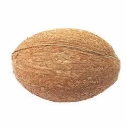 Solid Whole A Grade Fully Husked Coconut, Coconut Size: Medium
