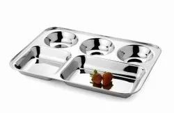 5 Compartment Rectangular Trays Diwali Gifting/Corporate Gifting