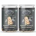 Healthy Treat Roasted Peanut- Black Pepper 400 Gm - Pack Of 2- 200 Gm Each
