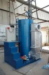 Oil & Gas Fired 500 kg/hr Coil Type Steam Boiler, Non IBR