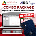 Skycut Plotter 24 Inch With Mobile Skin Software