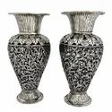 Silver Plated Flower Vase For Decoration & Gifting