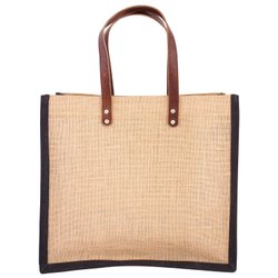 Jute Jewelry Bag Long Handle