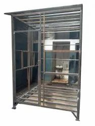 MS Security Cabins Frame, For Guard Room