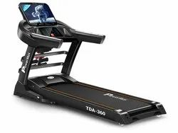 TDA-36010.1inch HD Display Motorized Treadmill with Auto Incline