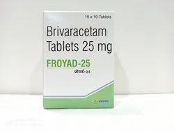FROYAD-25 (Brivaracetam 25 mg Tablets)