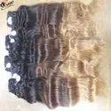 Wavy Ombre Color Hair