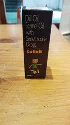 Dill Oil Fennel Oil With Simethicone Drops