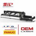 SIL Mild Steel Fiber Laser Pipe Cutting Machine