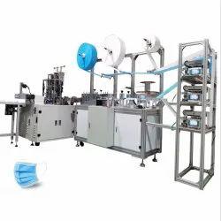 Fully Automatic Face Mask Making Machine