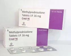 Methylprednisolone Tablets Ip 16 Mg