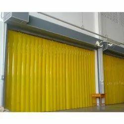 Colored Pvc Strip Curtains