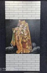 Radha Krishnan  Tiles Mural