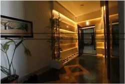 Main Entrance Interior Service, Work Provided: Wood Work & Furniture