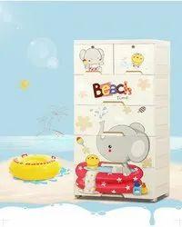 StarAndDaisy Smart Storage Cabinet / Almirah / Cupboard for Newborn Baby Kids