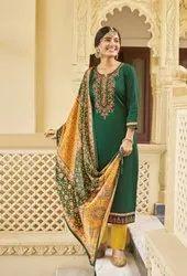 5 Design party wear Panch Ratna Swara Cotton Satin Work Salwar Kameez