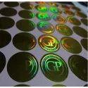 Flip Flop Colored Hologram Sticker
