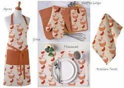Halloween Cotton Kitchen Linen Set