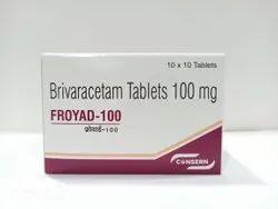 FROYAD-100 (Brivaracetam 100 mg Tablets)