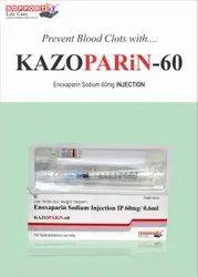 kazoparin-60 Enoxaparin Injection 60 mg/0.6 ml