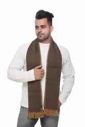 Designer Men Printed Woolen Scarves