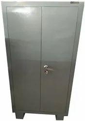 2 Doors Rectangle Steel Almirah