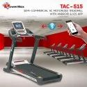 TAC-515 Semi-Commercial AC Motorized Treadmill with Android & iOS App
