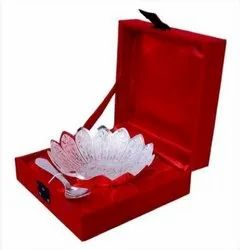 Metal Silver Plated Bowl For Wedding & Corporate Gift