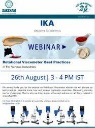 IKA Webinar - Rotational Viscometer Best Practices