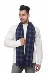 Men Check woolen Casual Scarves