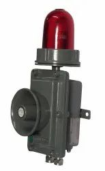 Flameproof Hooter Cum Flasher / Strobe With Accept Button