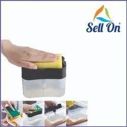 Shoptown Plastic Liquid Soap Press- Type Pump Dispenser