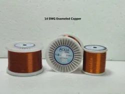 14 SWG Enameled Copper Winding Wire