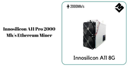 Innosilicon A11 Pro 8G ETH (2000Mh/s) Eth Miner