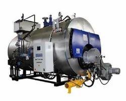 Oil & Gas Fired 400 kg/hr Packaged Steam Boiler, IBR Approved