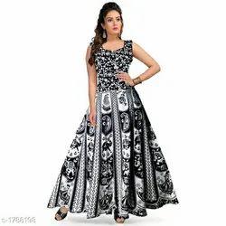 Bagru Print Ladies Dress