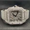 Stainless steel Customized Diamond Watch for Gents 3