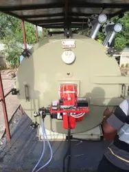 Oil & Gas Fired 3000 kg/hr Mobile Boiler System (MBS)
