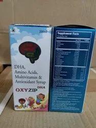 DHA Amino Acids,Multivitamin Antioxidant Syrups