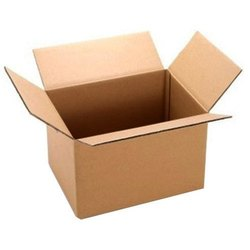 Plain Corrugated Cardboard Box