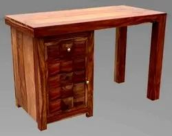 Brown Rectangular Wooden Table, For Home, Size: 45 X 22 X 30