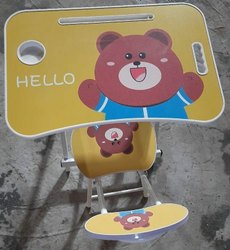 Hello Metal Folding Baby Table